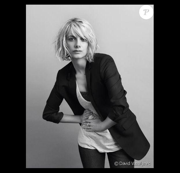 Mélanie Laurent photographiée par David Vassiljevic
