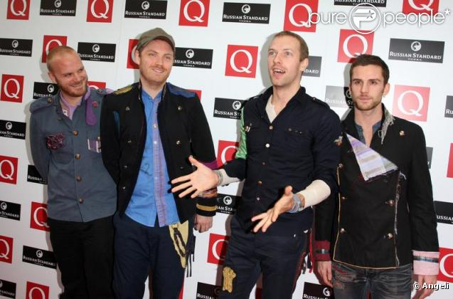 Le groupe Coldplay