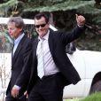 Charlie Sheen au tribunal d'Aspen, le 7 juin 2010