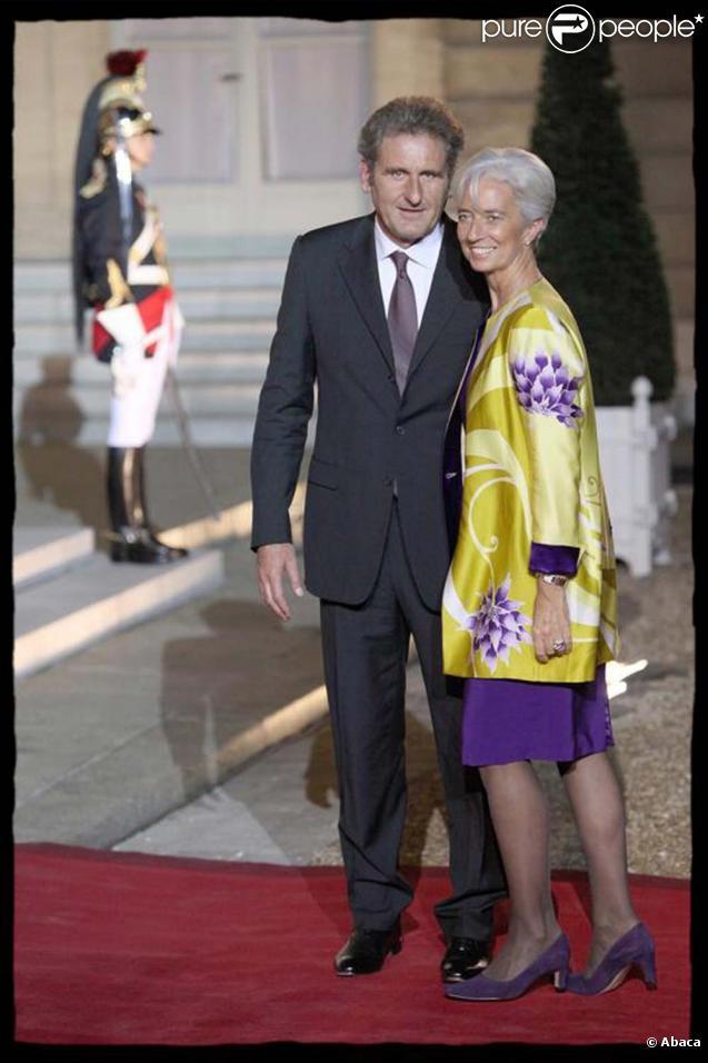 Christine Lagarde et son compagnon, Xavier Giocanti, novembre 2009.