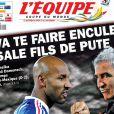 Le 17 juin 2010, à la mi-temps de France-Mexique, Nicolas Anelka a vertement et très publiquement insulté Raymond Domenech. Apothéose du climat délétère au sein de l'équipe de France...