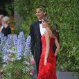 Vendredi 18 juin, un gala était donné au Concert Hall de Stockholm en l'honneur du mariage de Victoria de Suède et Daniel Westling le lendemain. Photo : Letizia d'Espagne et son mari le prince héritier Felipe.
