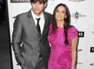 Ashton Kutcher : Demi Moore a du souci à se faire... Son mari embrasse les filles à tout-va !