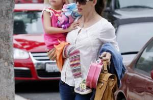 Jennifer Garner dément les rumeurs de grossesse... quand sa petite Violet se prend pour Punky Brewster !