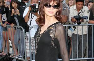 Les ravissantes Alyssa Milano et Victoria Principal, très en beauté pour leur passage chez Larry King !