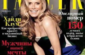 Heidi Klum : Très nature ou quasi topless, elle respire la joie de vivre !