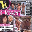 La couverture de Closer du 25 juin 2010