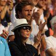 A Wimbledon 2010, les femmes de tennismen ont soutenu avec charme leurs champions respectifs... A l'image de Nolwenn Leroy, la compagne d'Arnaud Clément.