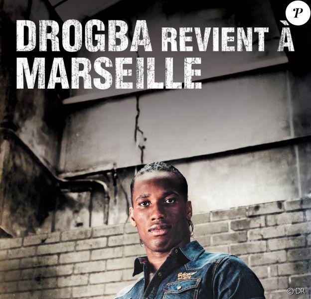 Didier Drogba nouvel ambassadeur de la marque de denim Kaporal