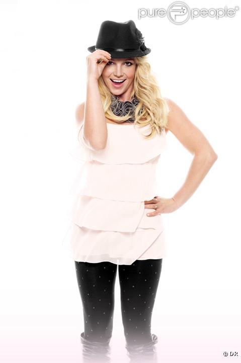 Britney Spears pour Candie's... Elle porte ici des pièces de la collection de prêt-à-porter 2010