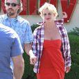 La chanteuse américaine Britney Spears