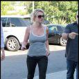 La chanteuse américaine Britney Spears à Calabasas en Californie, le 29 juin 2010