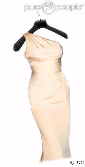 La robe de Cécilia Attias créée par Versace