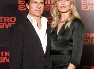 Une sublime Cameron Diaz en robe très fendue a failli faire fondre un Tom Cruise de cire !