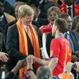 Le 11 juillet 2010, au Soccer City Stadium, les royaux espagnols ont savouré le bonheur de voir la Roja devenir championne du monde pour la 1e fois, en compagnie d'une Maxima des Pays-Bas et son mari déçus, mais pas abattus.