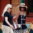 Denzel Washington, sa femme Paulette et leurs quatre enfants en vacances à Portofino en Italie