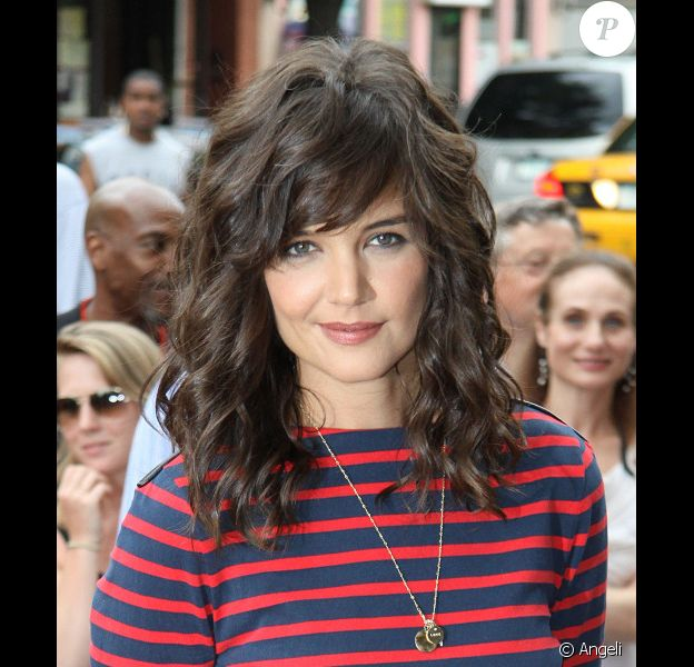 Katie Holmes à la première de The Extra Man à New York le 19/07/10