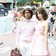 Charlotte Kemp Muhl et Sean Lennon à la première de The Extra Man à New York le 19/07/10