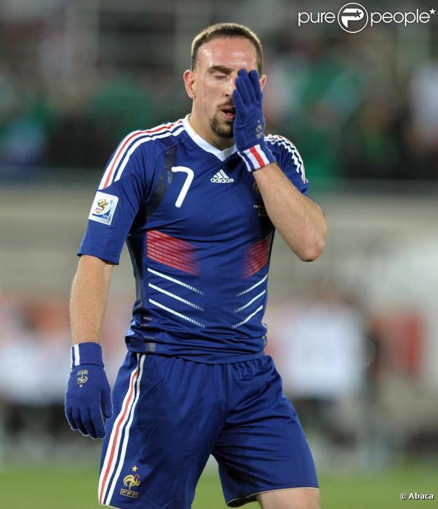 Franck Ribéry... la honte !