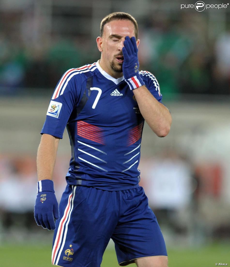 Franck Ribéry... la honte !...