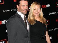 Le beau Jon Hamm, son épouse et la sulfureuse Christina Hendricks... pour une soirée complètement mad !