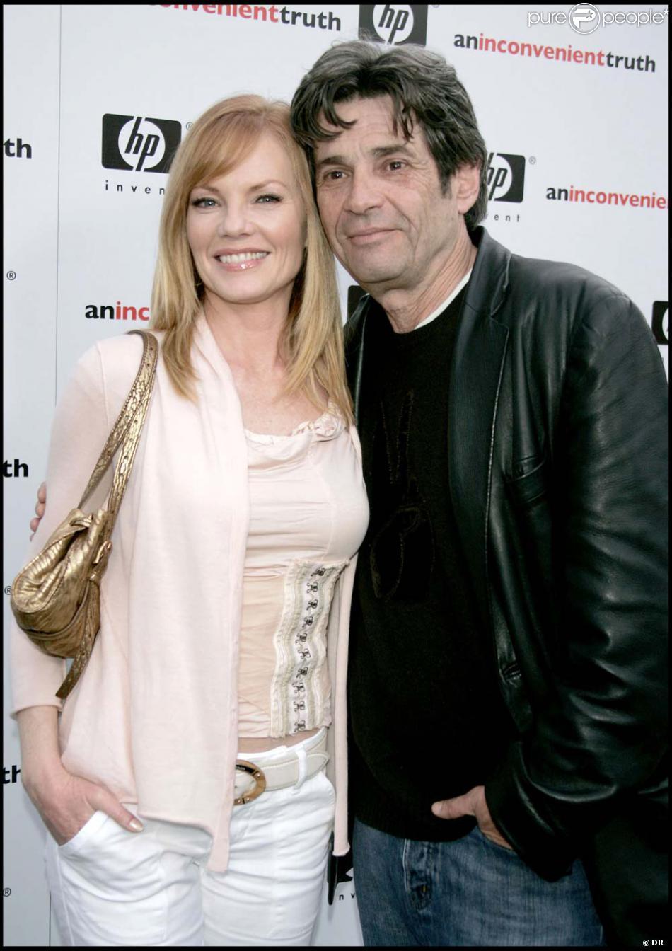 Marg Helgenberger with her ex-husband Alan Rosenberg