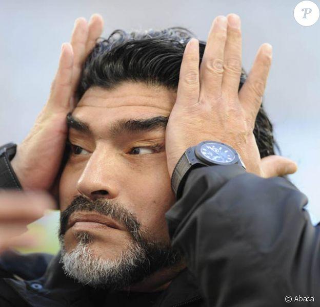 Diego Maradona n'a pas été reconduit à la tête de l'équipe argentine de foot...