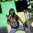 """M.I.A. au festival Coachella en 2009"""