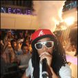Lil Jon lors d'une soirée au VIP Room à Saint-Tropez le 28 juillet 2010