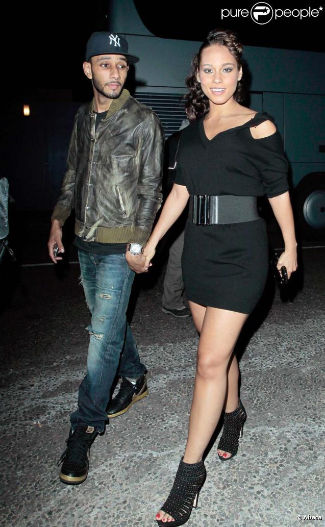 Alicia Keys et son époux Swizz Beatz, pas encore marié le 26 mai 2010
