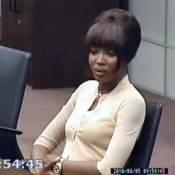 Regardez Naomi Campbell apporter son témoignage dans le procès Charles Taylor !