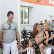 Letizia d'Espagne, Felipe et leurs fillettes : des spectateurs éblouis et éblouissants !