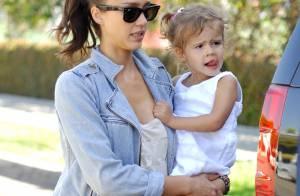 Jessica Alba : Sa fille Honor s'émerveille devant... les exploits sportifs de sa maman !