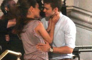 Justin Timberlake embrasse la pétillante Mila Kunis... et la demande en mariage !