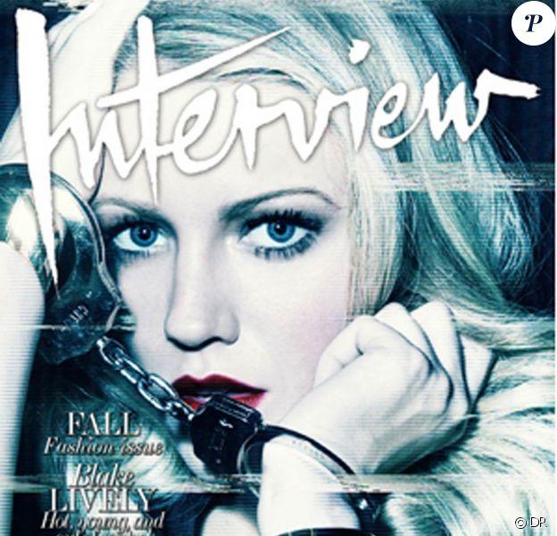 Blake Lively en couverture d'Interview Magazine
