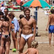 Francesco Totti : Il passe sa vie à la plage, avec sa petite famille !