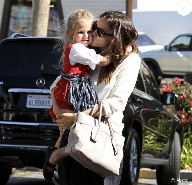 Jennifer Garner et sa fille Violet (30 août 2010, Los Angeles)