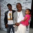 Reggie Rock Bythewood, Mike Tyson et sa fille Milan, à la soirée ESPN pour One Night in Vegas