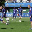 Mercredi 1er septembre, Zinedine Zidane rejoignait son copain Laurent Blanc et le groupe France à Clairefontaine pour une session d'entraînement technique et ludique !