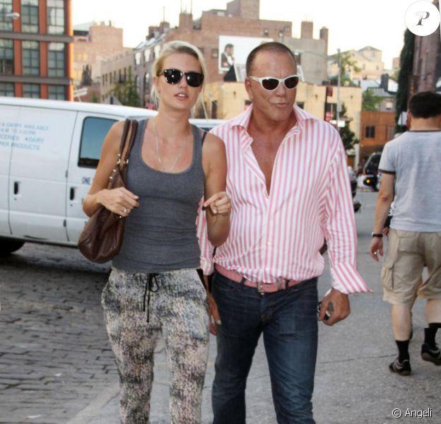Mickey Rourke et sa petite amie le top  Anastassija Makaranko