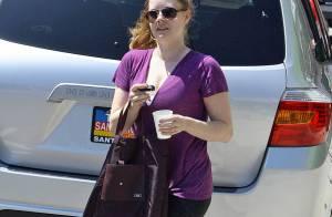 Amy Adams : Une jeune maman fière et sportive !
