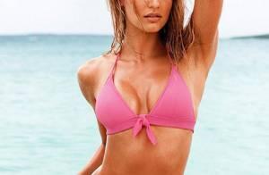 La craquante Candice Swanepoel, le plus bel Ange de Victoria's Secret...