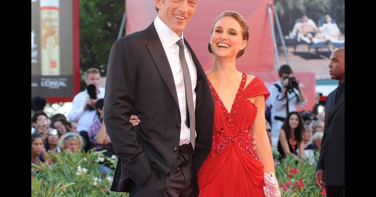 Vincent Cassel et Natalie Portman lors de la 67e Mostra de ...