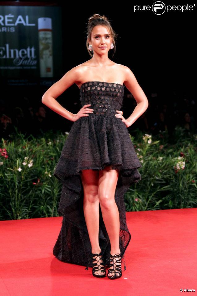 Jessica Alba lors de la 67e Mostra de Venise, en septembre 2010.