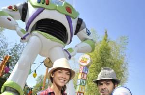 Jamel Debbouze et Mélissa Theuriau, et Sonia Rolland, très enceinte et amoureuse, succombent à la magie Disney ! (réactualisé)