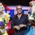 Jean-Claude Van Damme lors de l'élection de Miss Ukraine 2010 au National Palace en Ukraine à Kiev le 5 septembre 2010