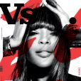 Naomi Campbell en couverture du magazine VS
