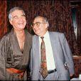 Jean-Claude Brialy et Claude Chabrol