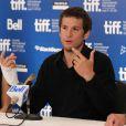 Guillaume Canet à l'occasion de la conférence de presse consacrée aux  Petits Mouchoirs , dans le cadre du Festival du Film de Toronto, le 12 septembre 2010.