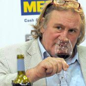 Gérard Depardieu, truculent : il mange, picole et résout les problèmes d'érection... mais n'oublie pas son ami Chabrol !